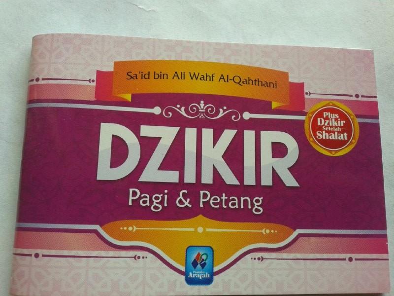 Buku Saku Dzikir Pagi Dan Petang Mini cover
