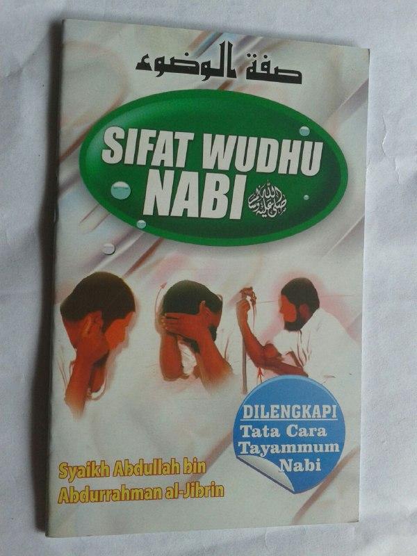 Buku Saku Sifat Wudhu Nabi cover 2