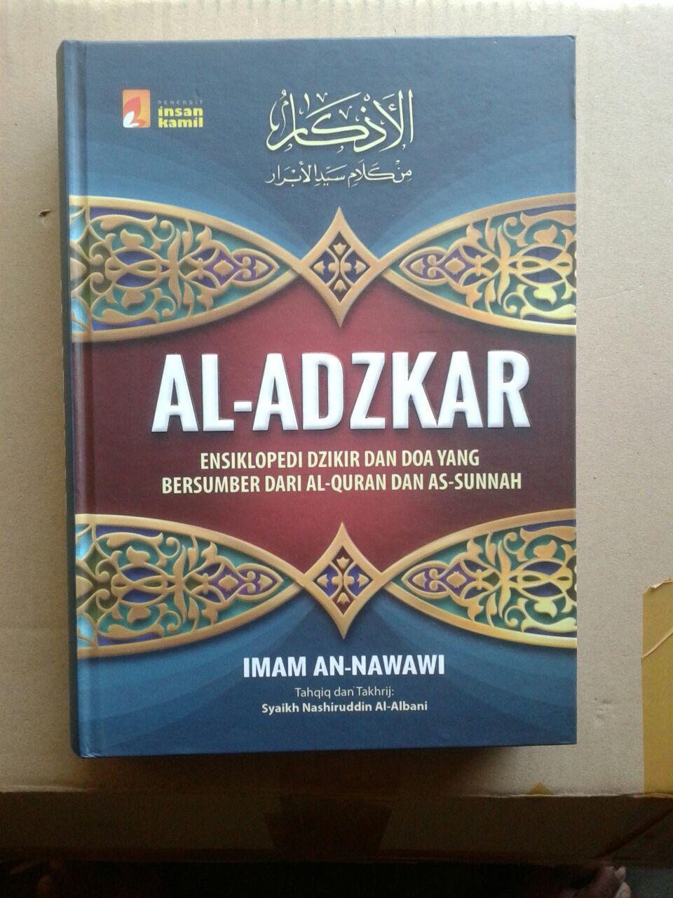Buku Al-Adzkar Ensiklopedi Dzikir Dan Doa cover