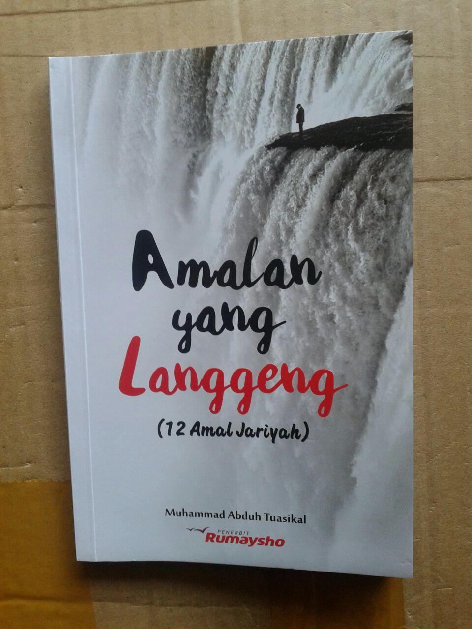 Buku Amalan Yang Langgeng 12 Amalan Jariyah cover