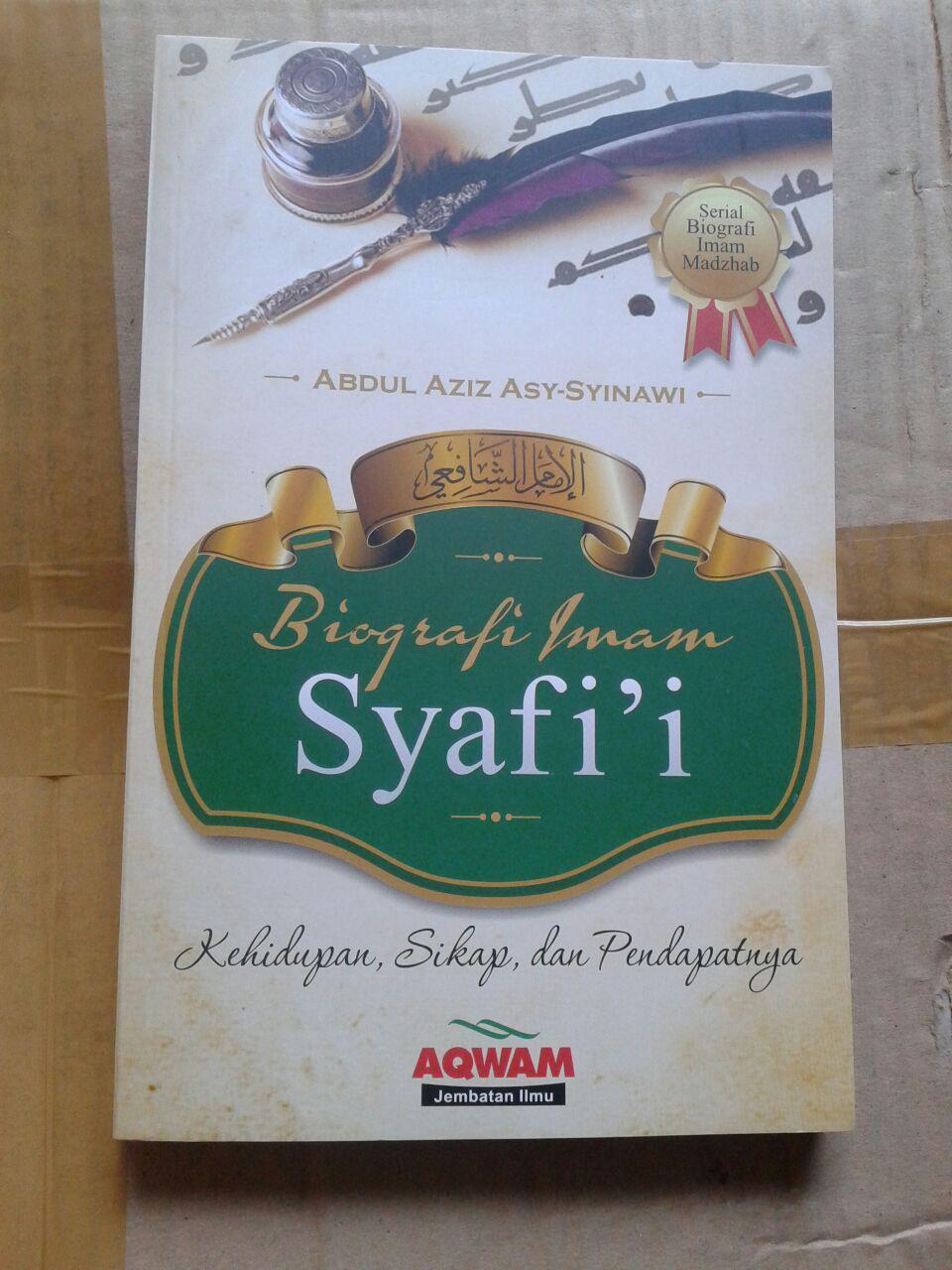 Buku Biografi Imam Asy-Syafi'i cover