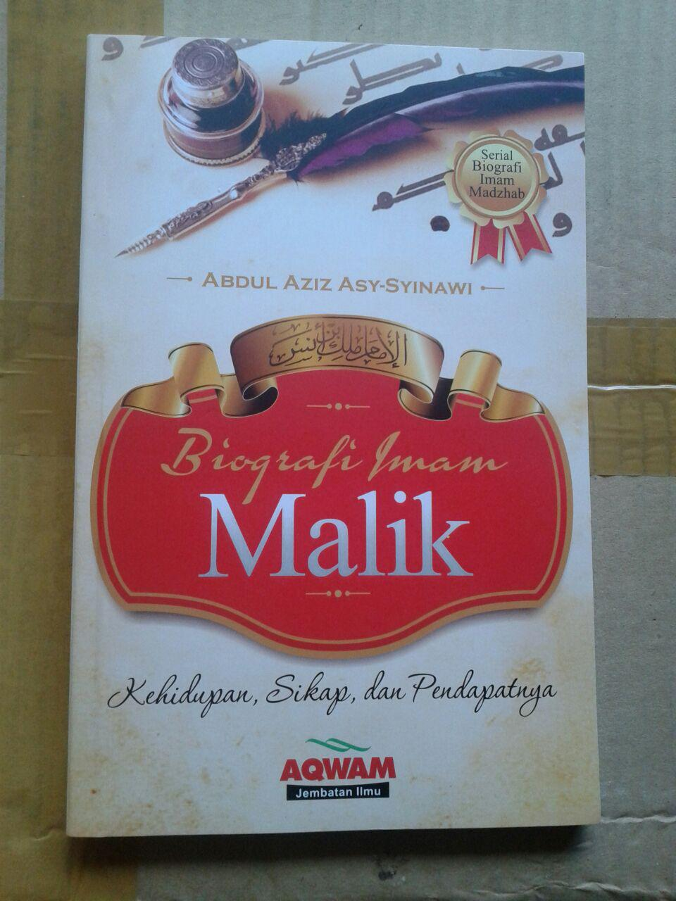 Buku Biografi Imam Malik cover