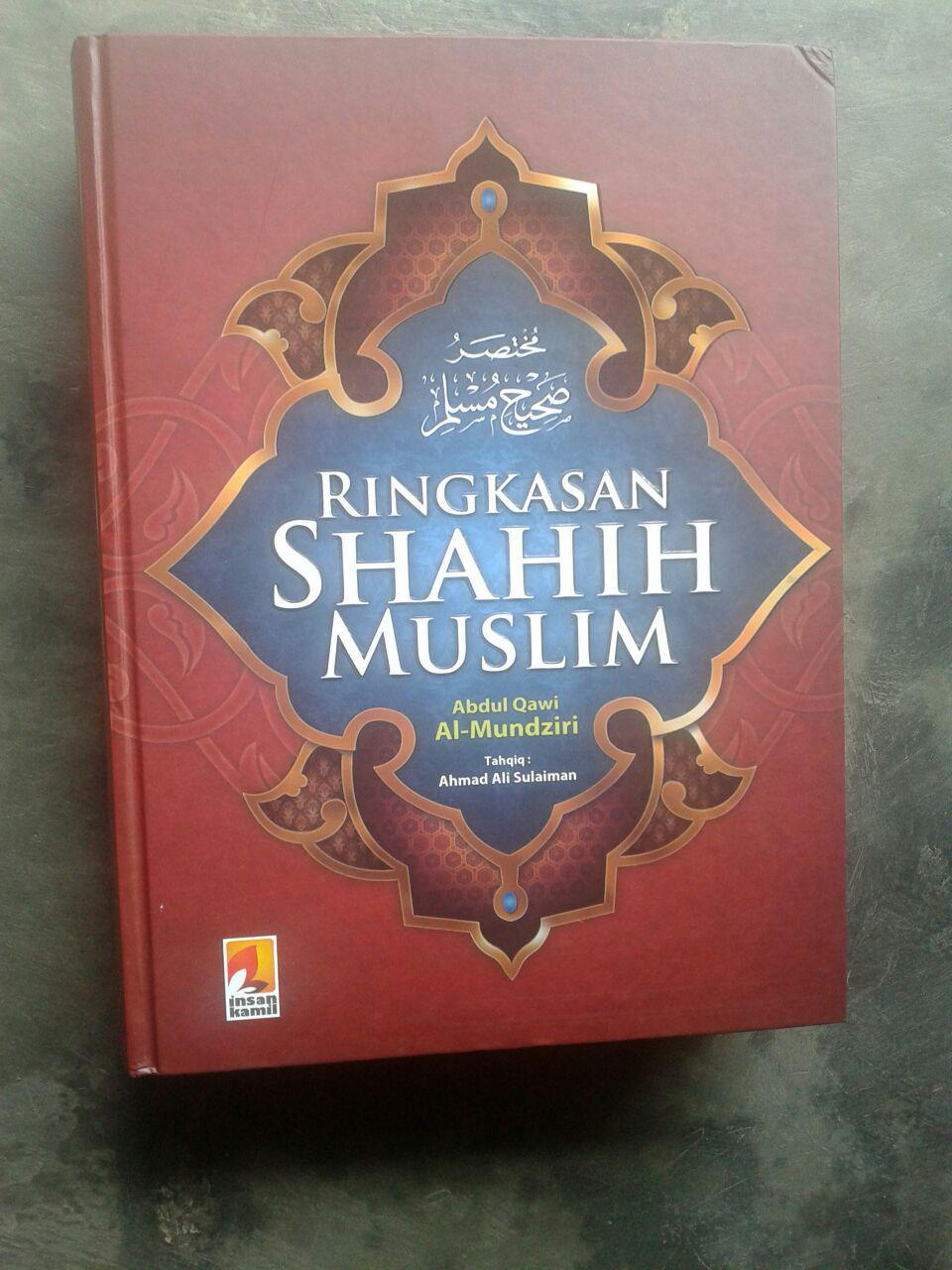 Buku Ringkasan Shahih Muslim cover