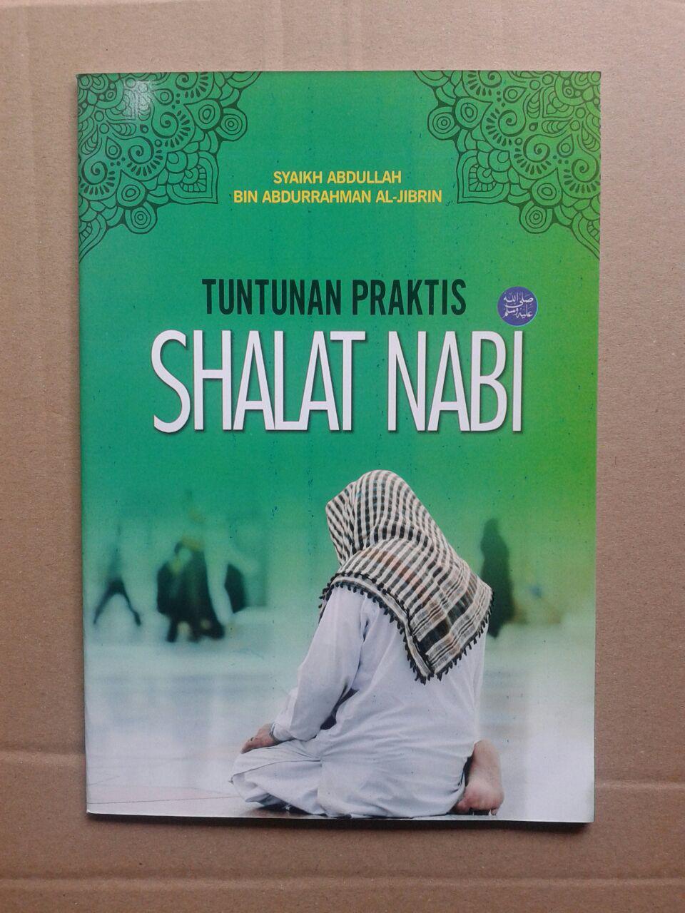 Buku Tuntunan Praktis Shalat Nabi cover