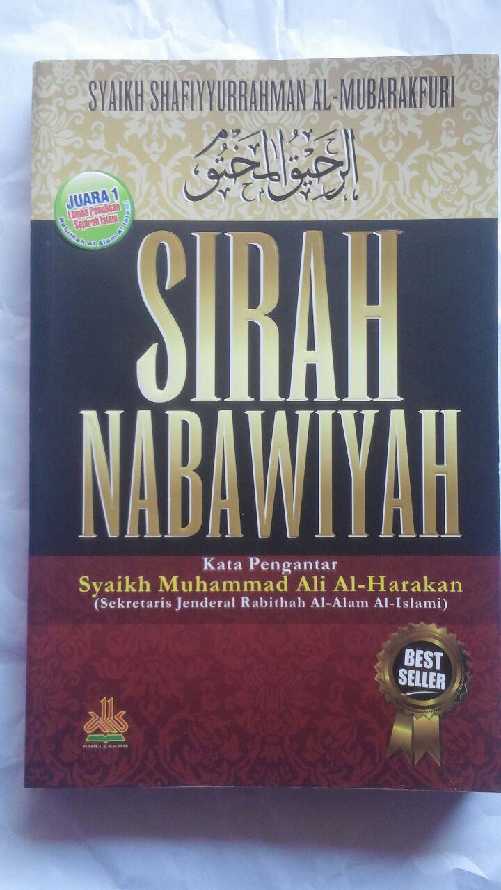BK2791 Buku Sirah Nabawiyah Ar-Rahiq Al-Makhtum SC 75.000 20% 60.000 Pustaka Al-Kautsar cover