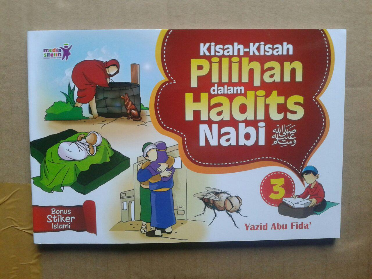 Buku Anak Kisah-Kisah Pilihan Dalam Hadits Nabi Jilid 3 cover