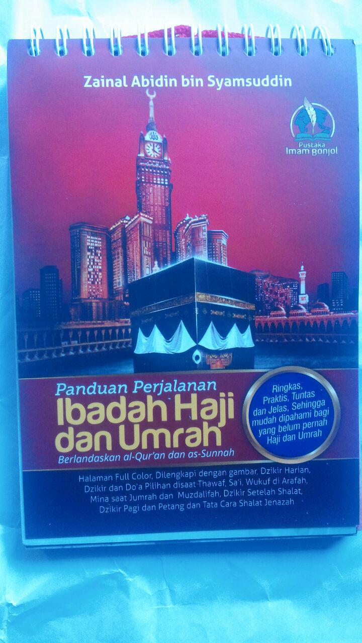 Buku Panduan Perjalanan Ibadah Haji Dan Umrah 40.000 20% 32.000 Pustaka Imam Bonjol Zainal Abidin bin Syamsudin, Lc cover