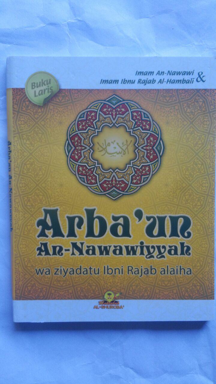 Buku Saku Arba'un An-Nawawiyyah Wa Ziyadatu Ibni Rajab 10.000 15% 8.500 Maktabah Al-Ghuroba' Imam An-Nawawi Imam Ibnu Rajab Al-Hambali cover 2
