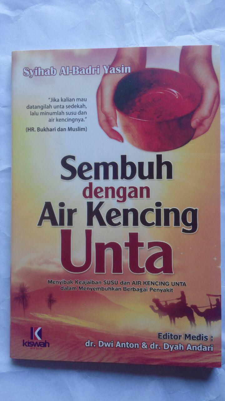 Buku Sembuh Dengan Air Kencing Unta 26.000 15% 22.100 Kiswah Media Syihab Al-Badri Yasin cover 2