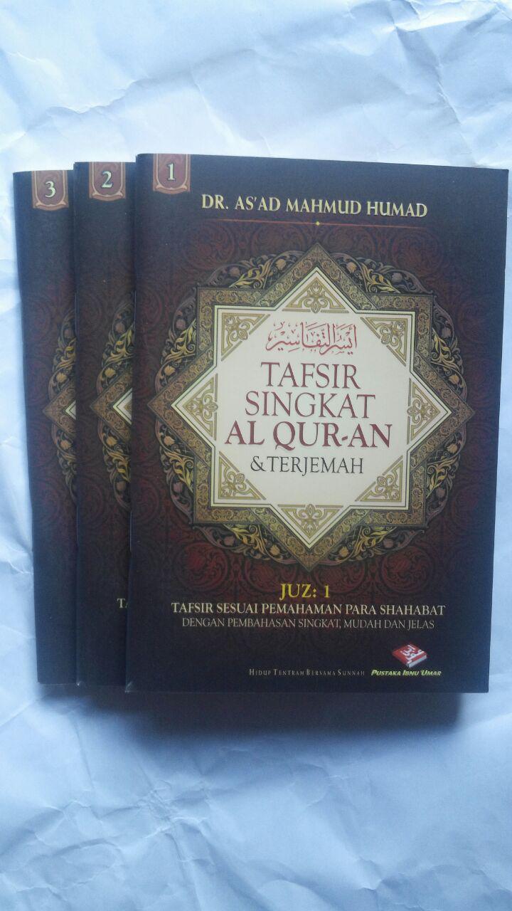 Buku Tafsir Singkat Al-Quran Dan Terjemah Kecil Set 30 Jilid 450.000 25% 337.500 Pustaka Ibnu Umar DR. As'ad Mahmud Humad cover4