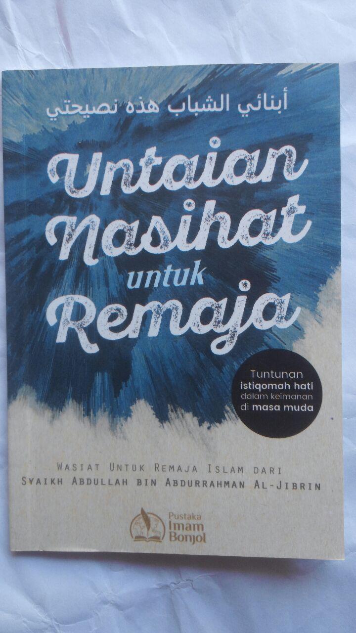 Buku Untaian Nasihat Untuk Remaja 5.000 15% 4.250 Pustaka Imam Bonjol cover