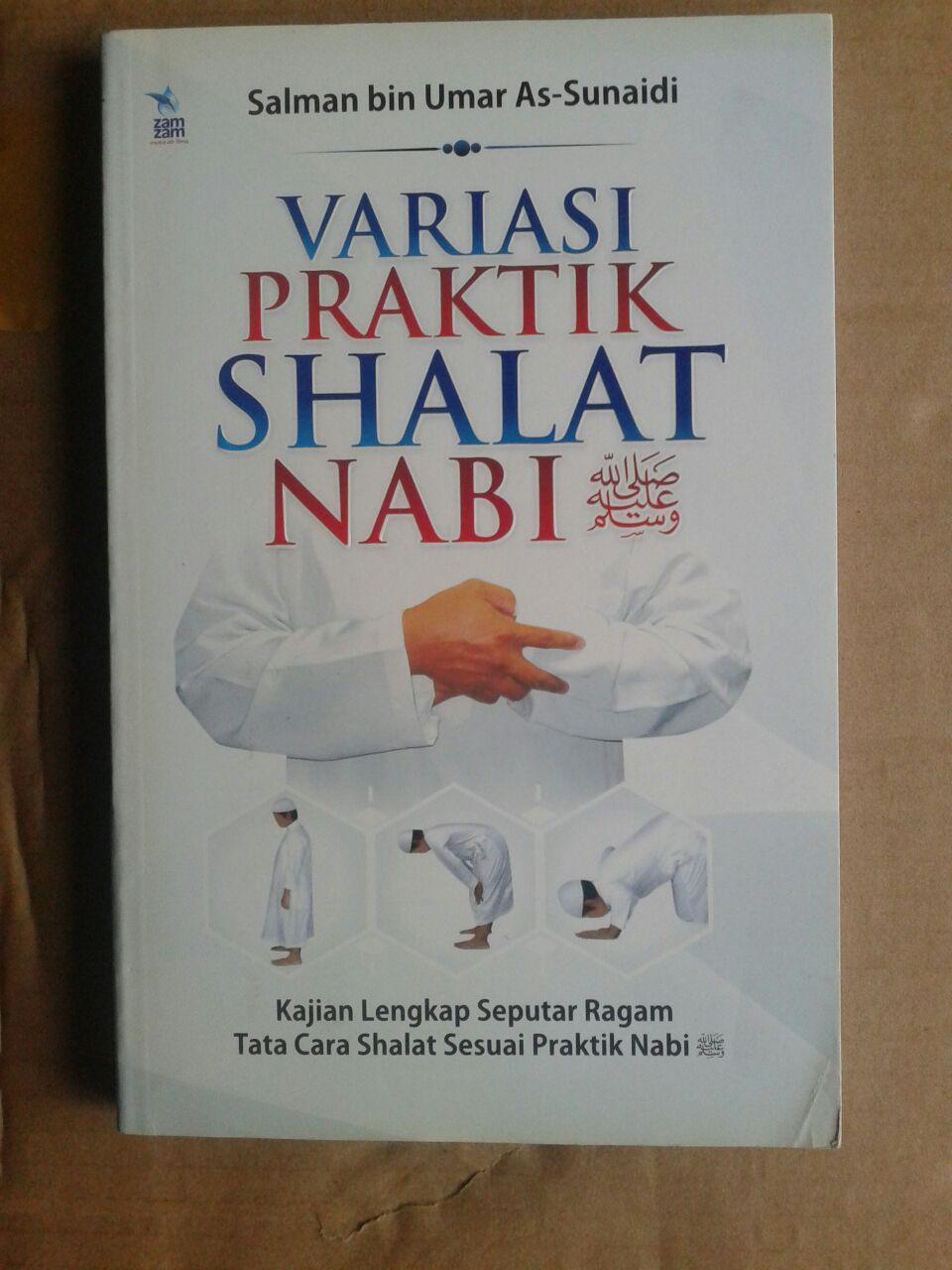 Buku Variasi Praktik Shalat Nabi Kajian Lengkap Shalat cover