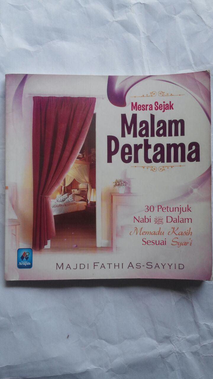 Buku Mesra Sejak Malam Pertama 30 Petunjuk Nabi 20.000 15% 17.000 Pustaka Arafah Majdi Fathi As-Sayyid cover 2