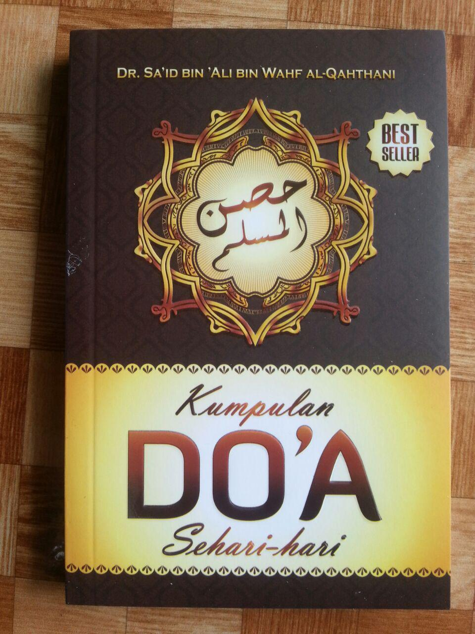 Buku Saku Hishnul Muslim Kumpulan Doa Sehari-Hari cover 2