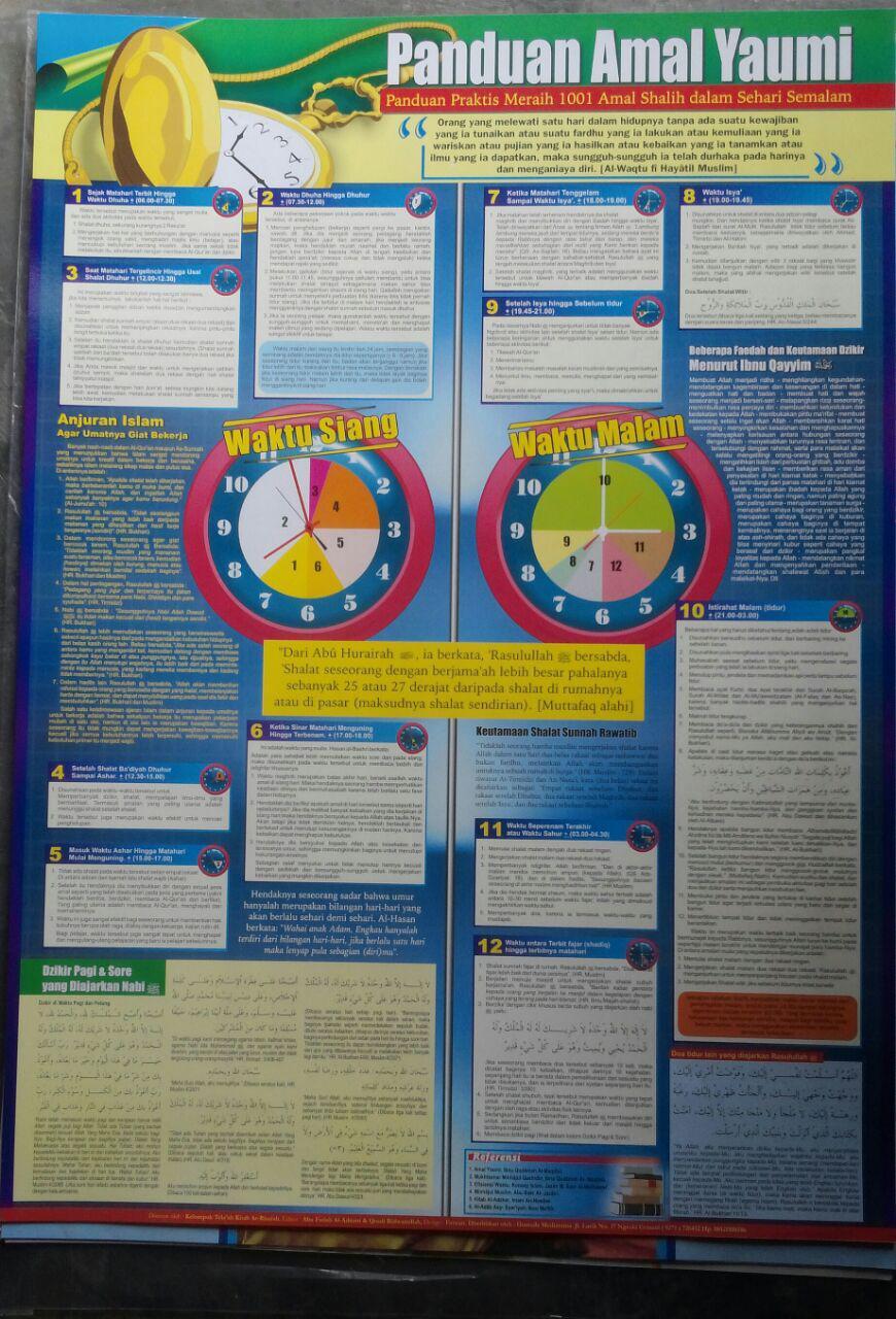 Poster Panduan Amal Yaumi 15.000 15% 12.750 Granada Mediatama 2