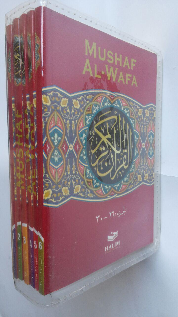 Al-Qur'an Mushaf Halim Al-Wafa Per 5 Juz 45.000 15% 38.250 Halim Publishing cover