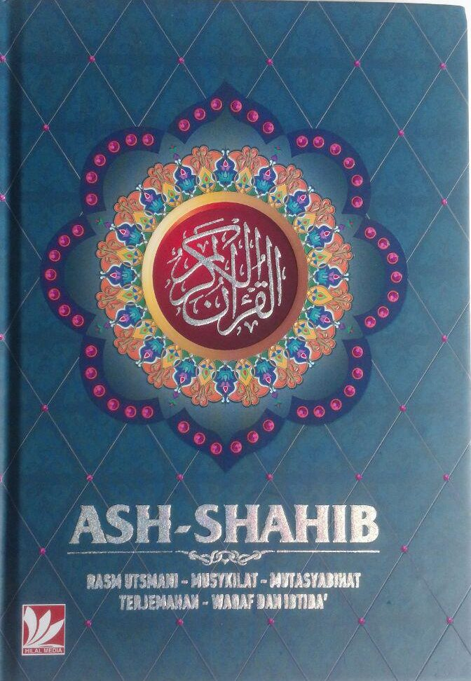 Al-Qur'an Terjemah Ash-Shahib Ukuran A5 110,000 15% 93,500 cover 2