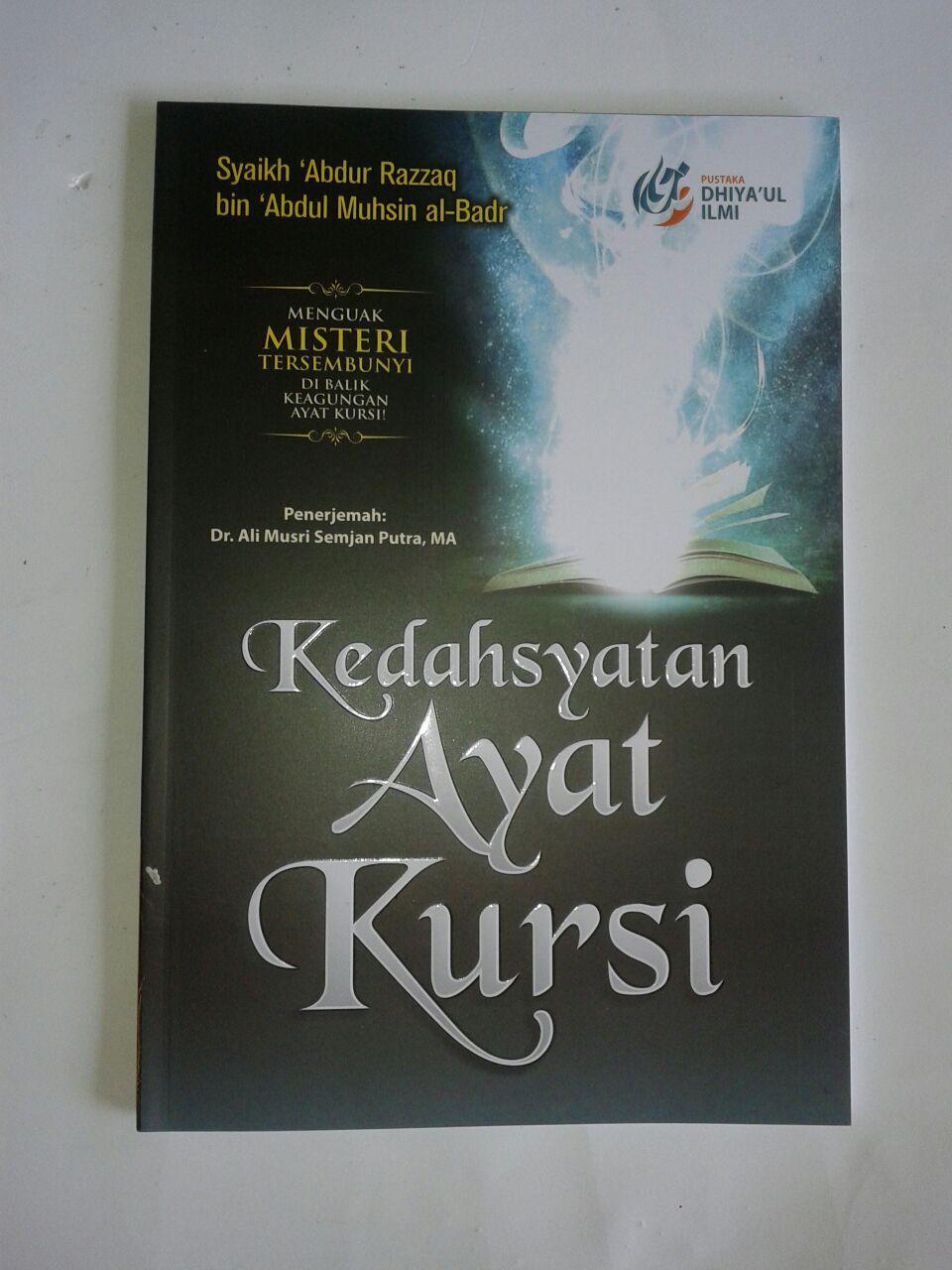 Buku Kedahsyatan Ayat Kursi Menguak Misteri Tersembunyi cover 2