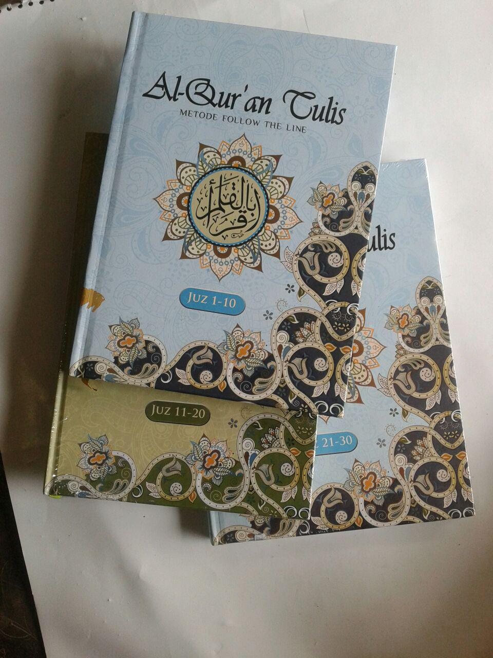 Al-Qur'an Tulis Metode Follow The Line 1 Set 3 Jilid cover 3