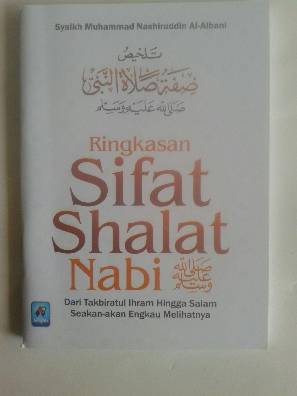 Buku Saku Ringkasan Sifat Shalat Nabi Dari Takbir Hingga Salam cover 2