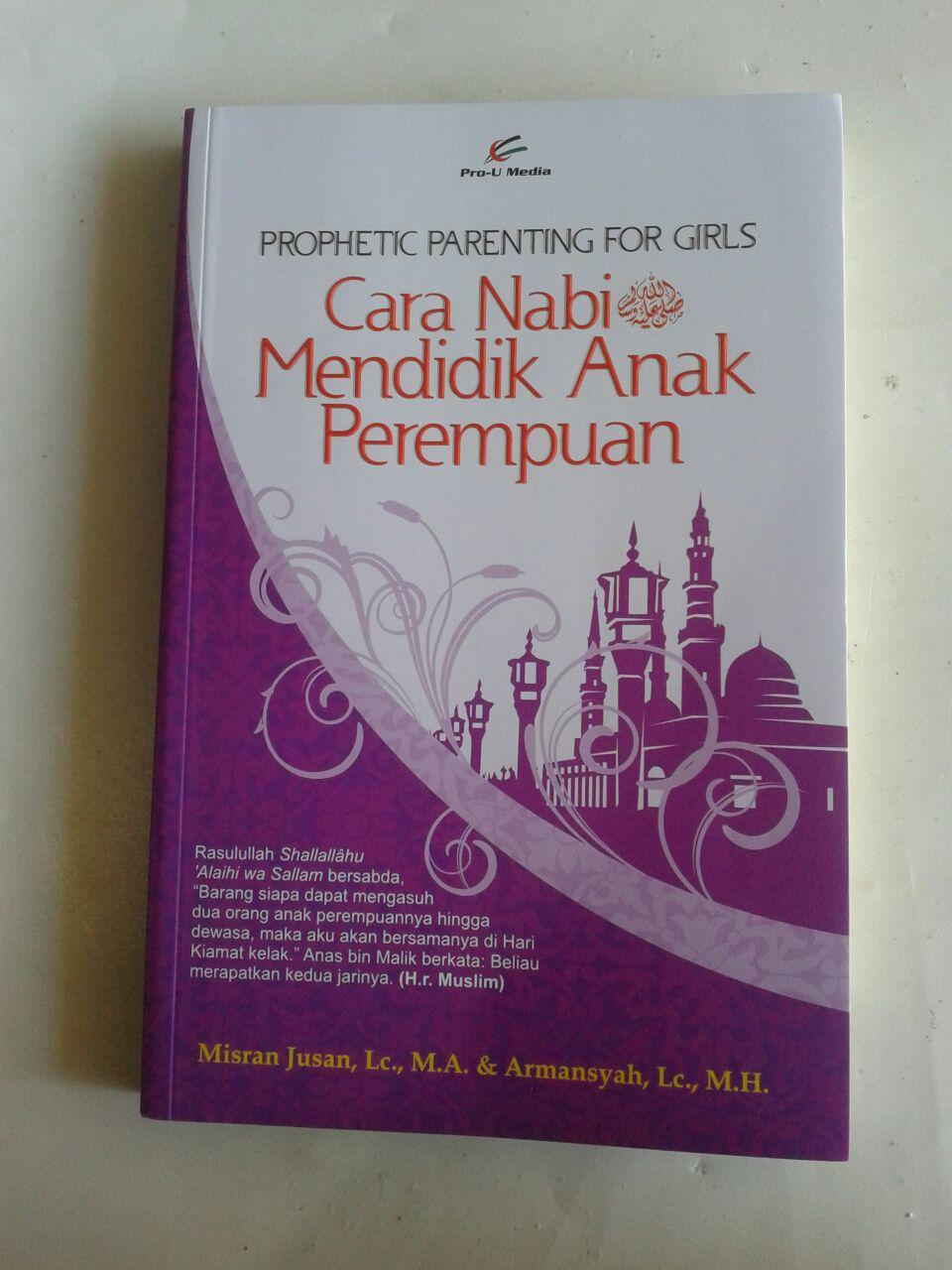 Buku Cara Nabi Mendidik Anak Perempuan cover 2