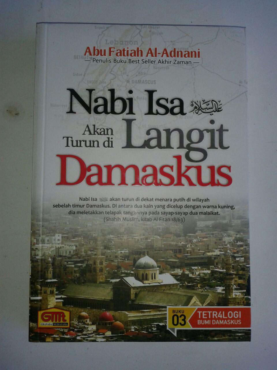 Buku Nabi Isa Akan Turun Di Langit Damaskus cover 2