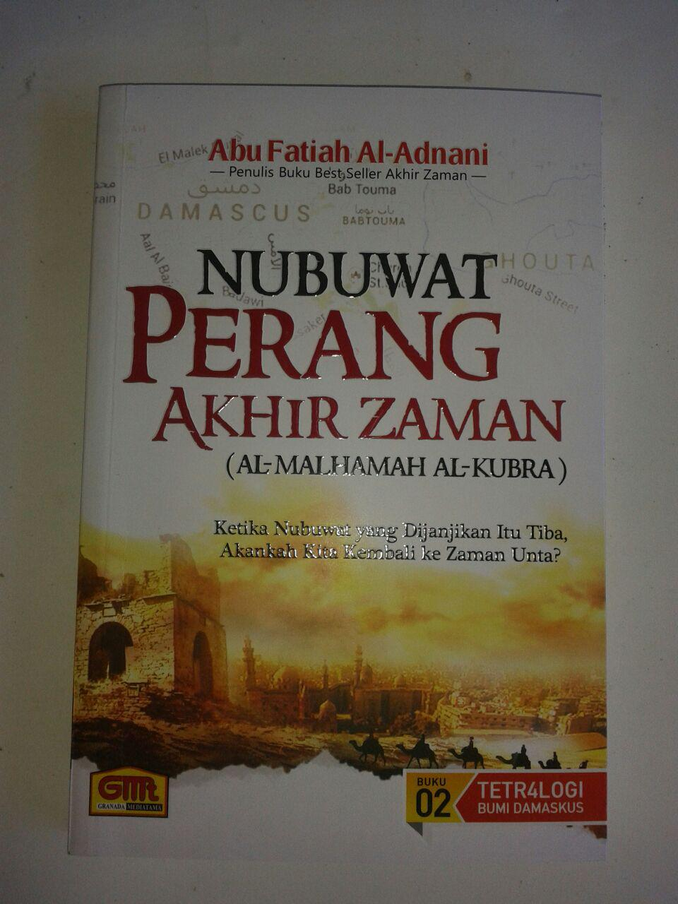 Buku Nubuwat Perang Akhir Zaman cover 2