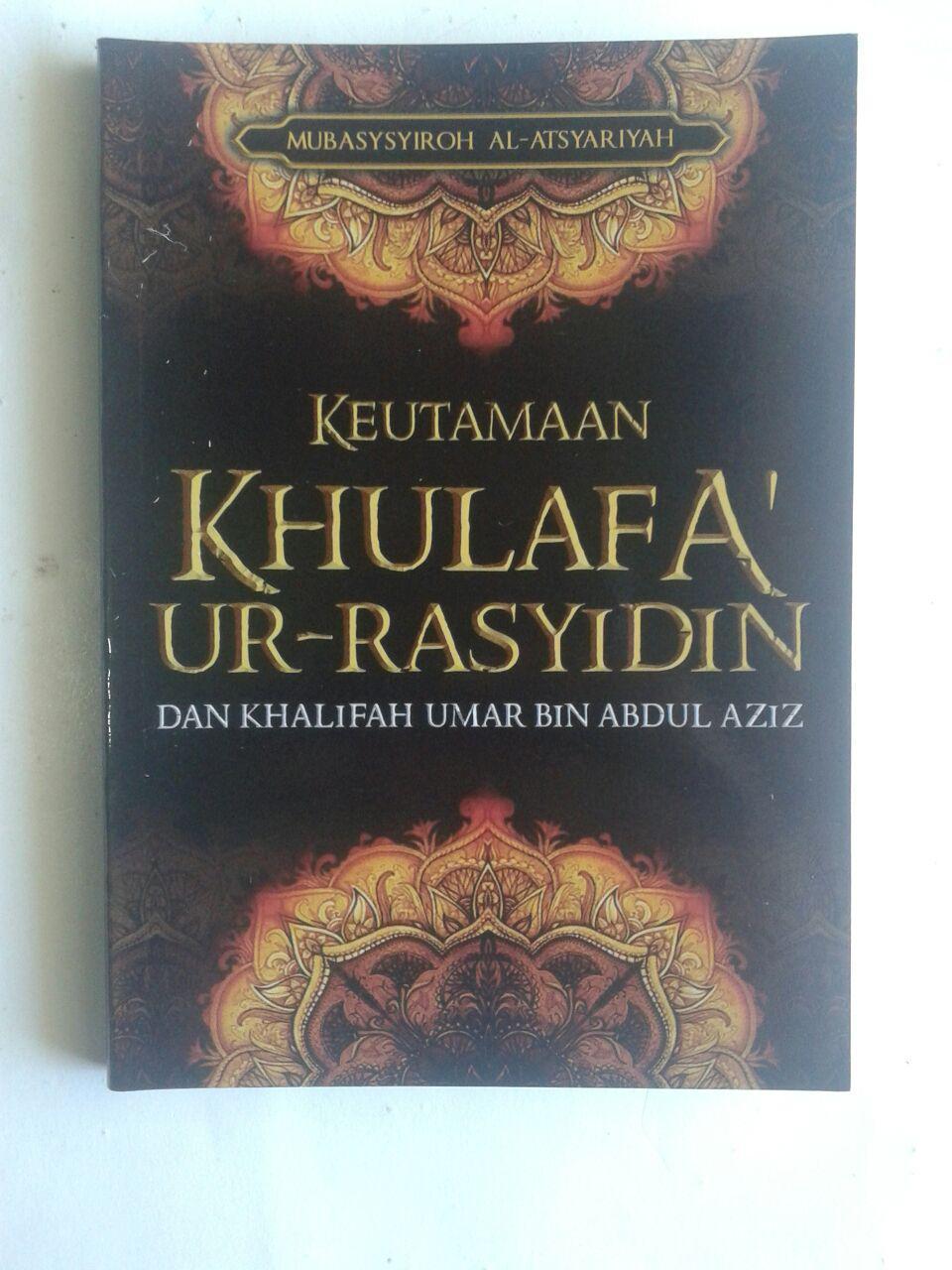 Buku Saku Keutamaan Khulafaur Rasyidin Dan Umar bin Abdul Aziz cover 2