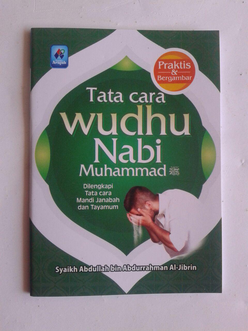 Buku Saku Tata Cara Wudhu Nabi Dilengkapi Mandi Janabah Tayamum cover 2