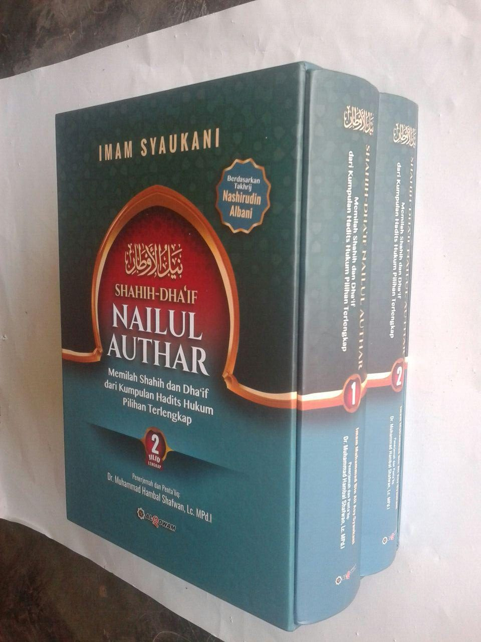 Buku Shahih Dhaif Nailul Authar Kumpulan Hadits Hukum Terlengkap cover 5