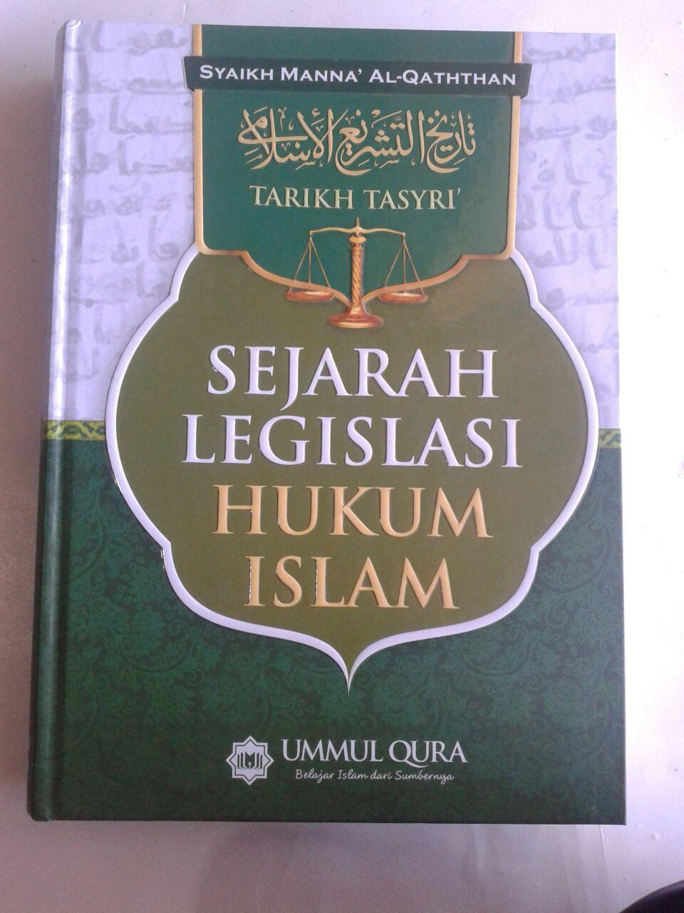 Buku Tarikh Tasyri Sejarah Legislasi Hukum Islam cover 2