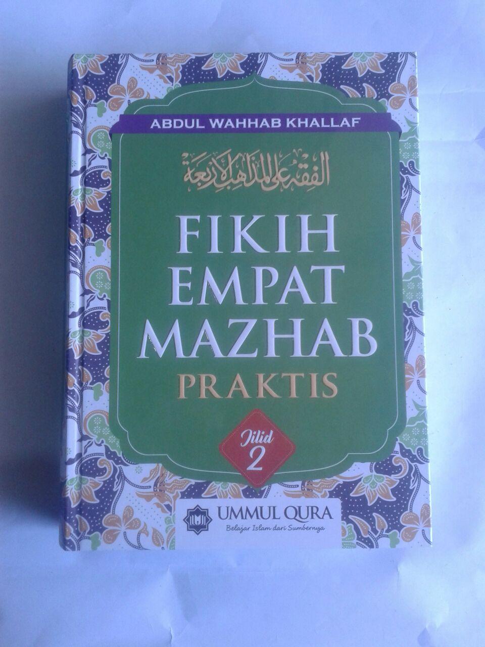 Buku Fikih Empat Madzhab Praktis 1 Set 2 Jilid cover 2
