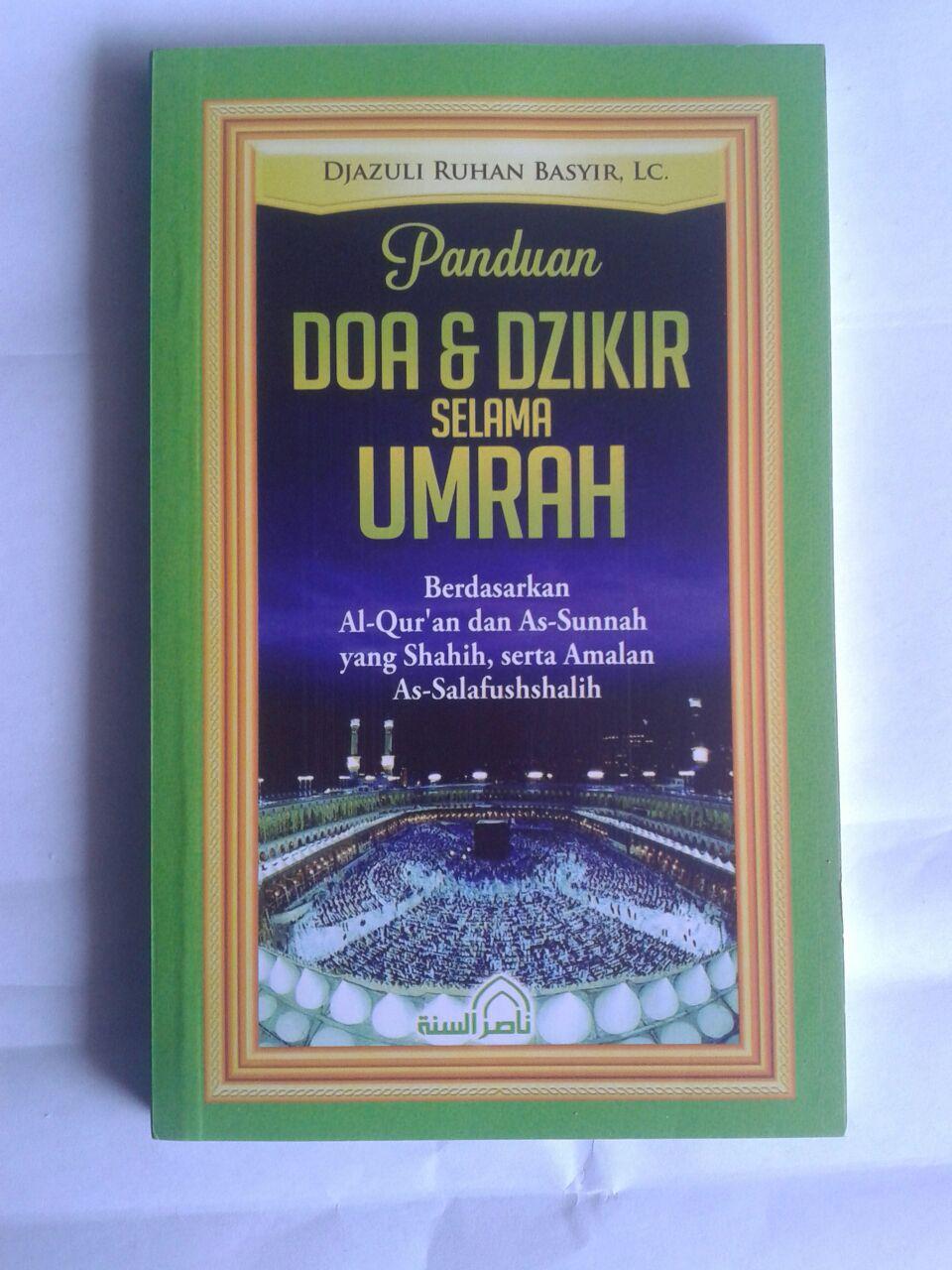 Buku Panduan Doa Dan Dzikir Selama Umrah cover 2