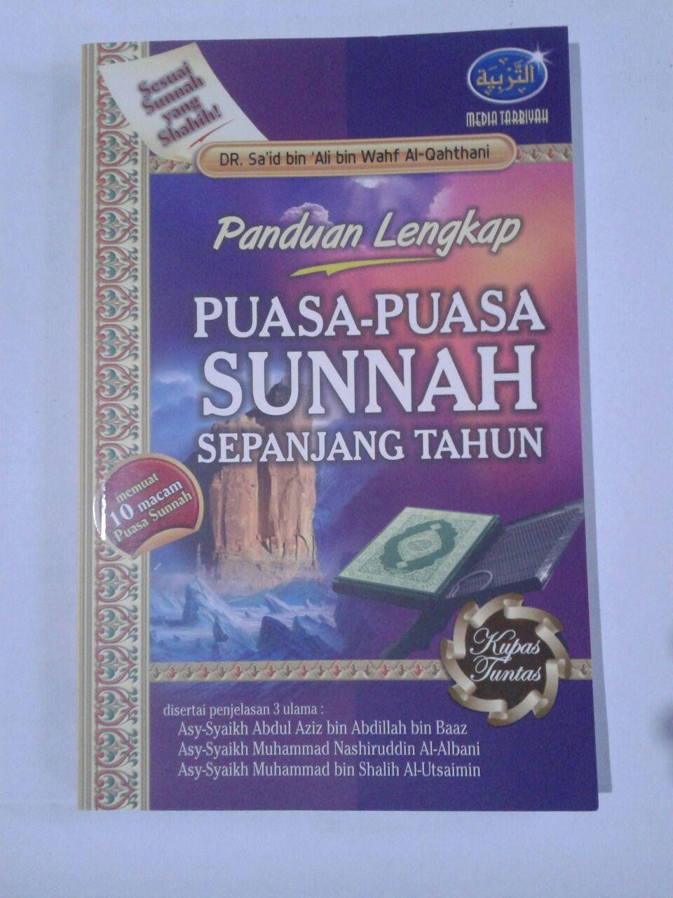 Buku Panduan Lengkap Puasa-Puasa Sunnah Sepanjang Tahun cover 2