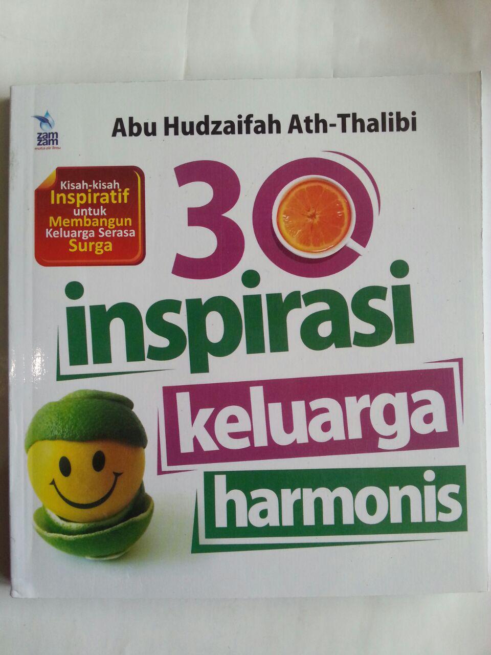 Buku 30 Inspirasi Keluarga Harmonis Kisah-Kisah Inspiratif cover 2