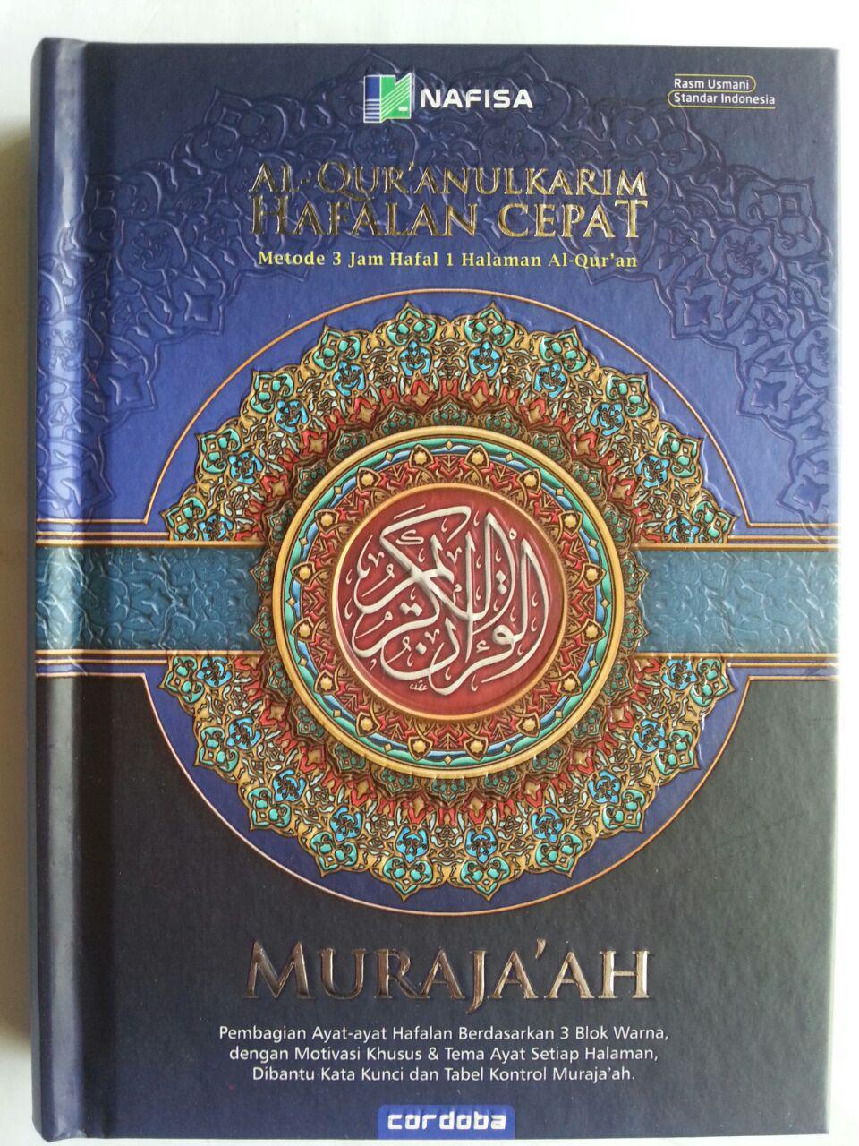 Al-Qur'an Hafalan Muraja'ah Metode 3 jam Hafal 1 Halaman A6 cover