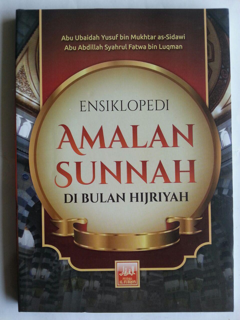 Buku Ensiklopedi Amalan Sunnah Di Bulan Hijriah cover 2