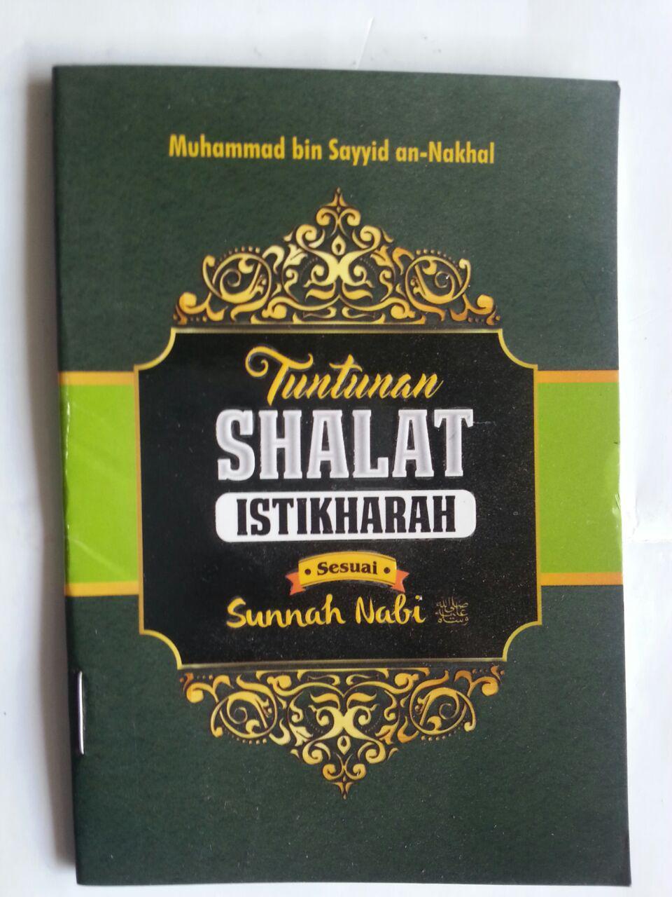 Buku Saku Tuntunan Shalat Istikharah Sesuai Sunnah Nabi cover