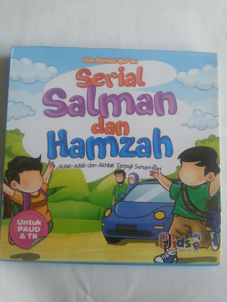 Buku Anak Serial Salman Dan Hamzah cover 3