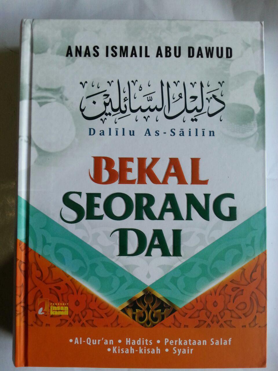 Buku Dalilu As-Sailin Bekal Seorang Dai cover 2