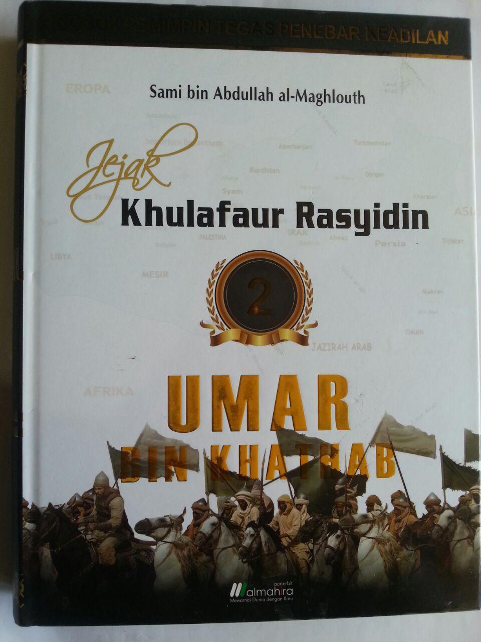 Buku Jejak Khulafaur Rasyidin Umar bin Khathab cover 2