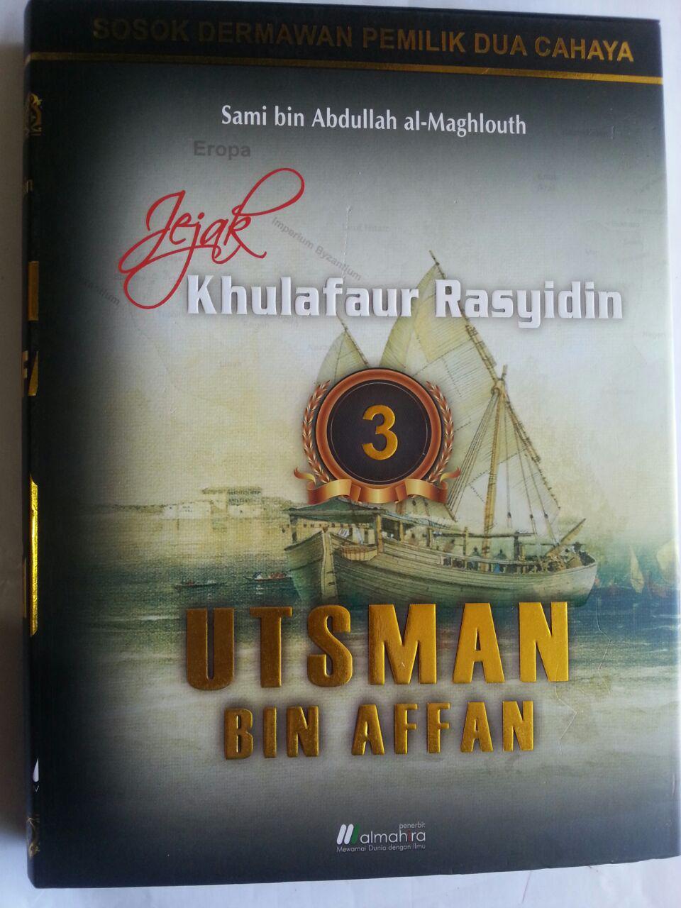 Buku Jejak Khulafaur Rasyidin Utsman bin Affan cover 2