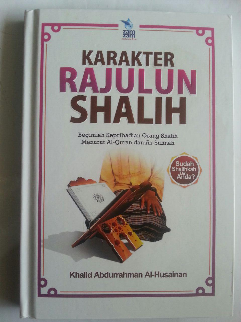 Buku Karakter Rajulun Shalih Kepribadian Menurut Quran Sunnah cover 2