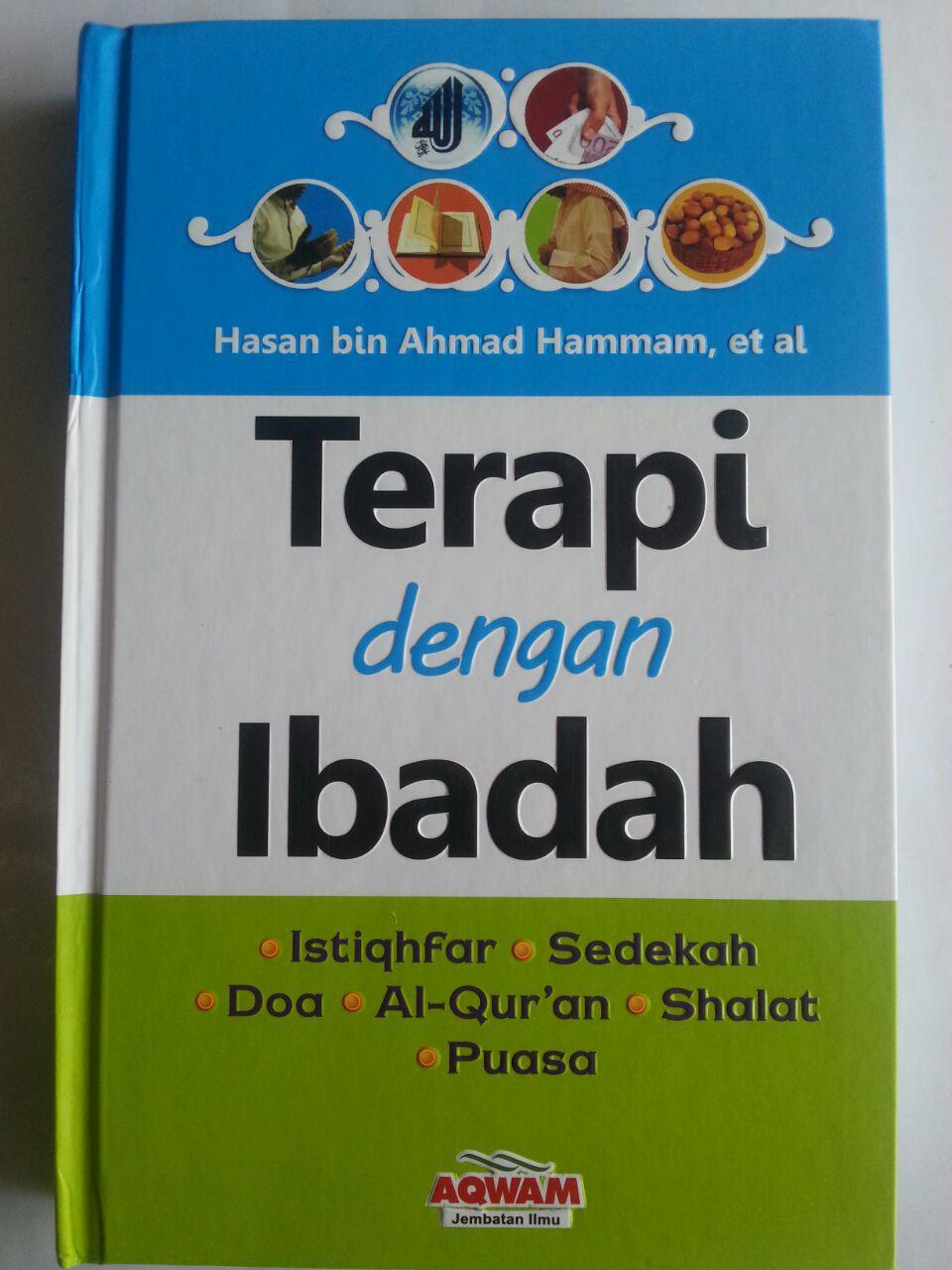 Buku Terapi Dengan Ibadah Istighfar Sedekah Doa Dll cover 2