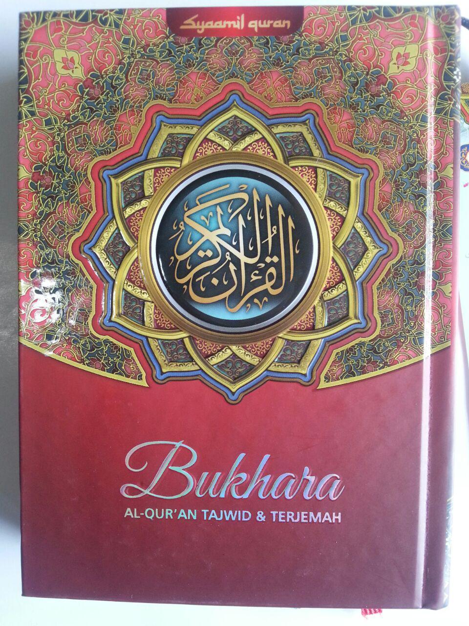 Al-Qur'an Tajwid Dan Terjemah Bukhara Ukuran A6 cover