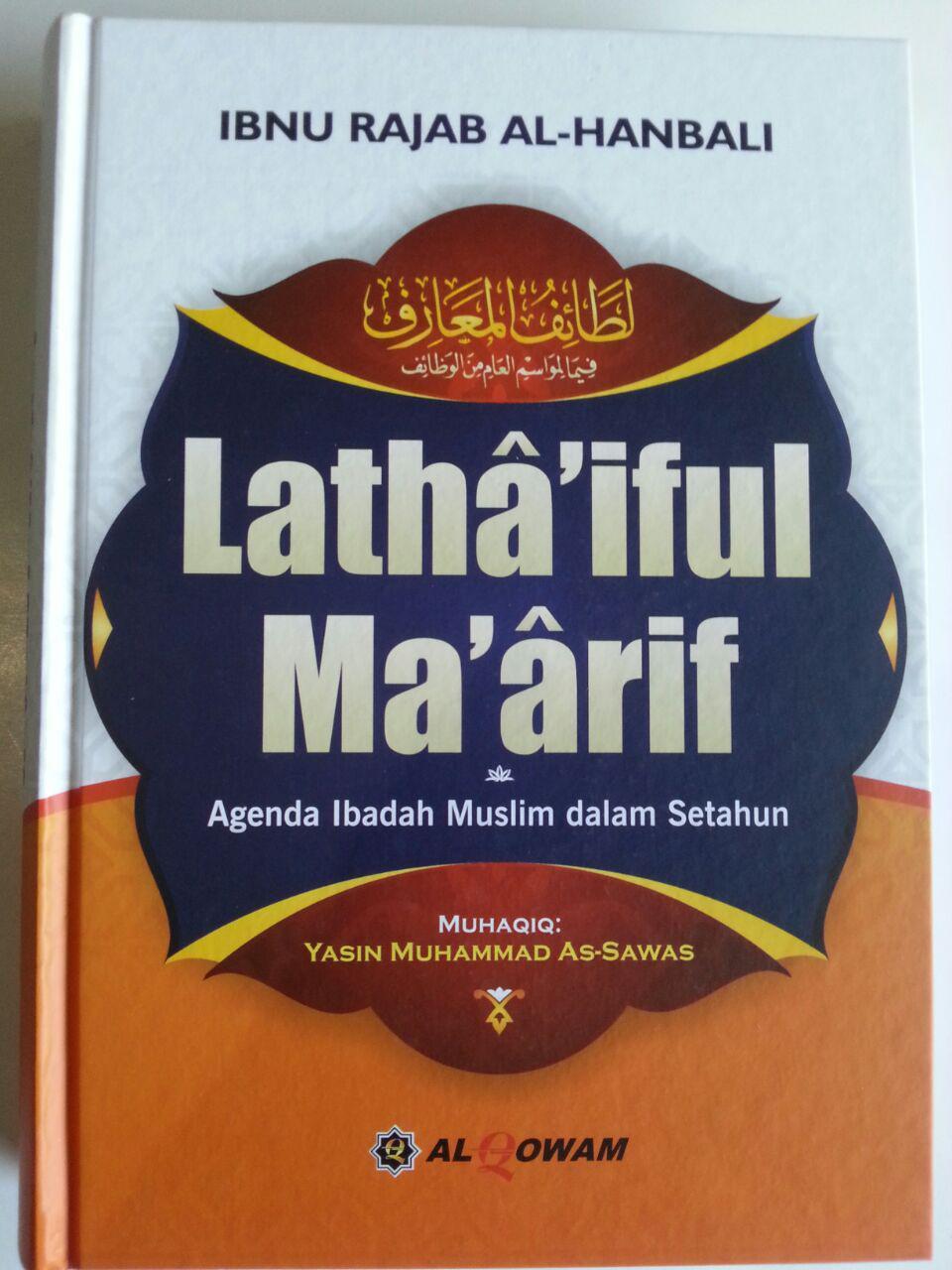 Buku Lathaiful Maarif Agenda Ibadah Muslim Dalam Setahun cover 3