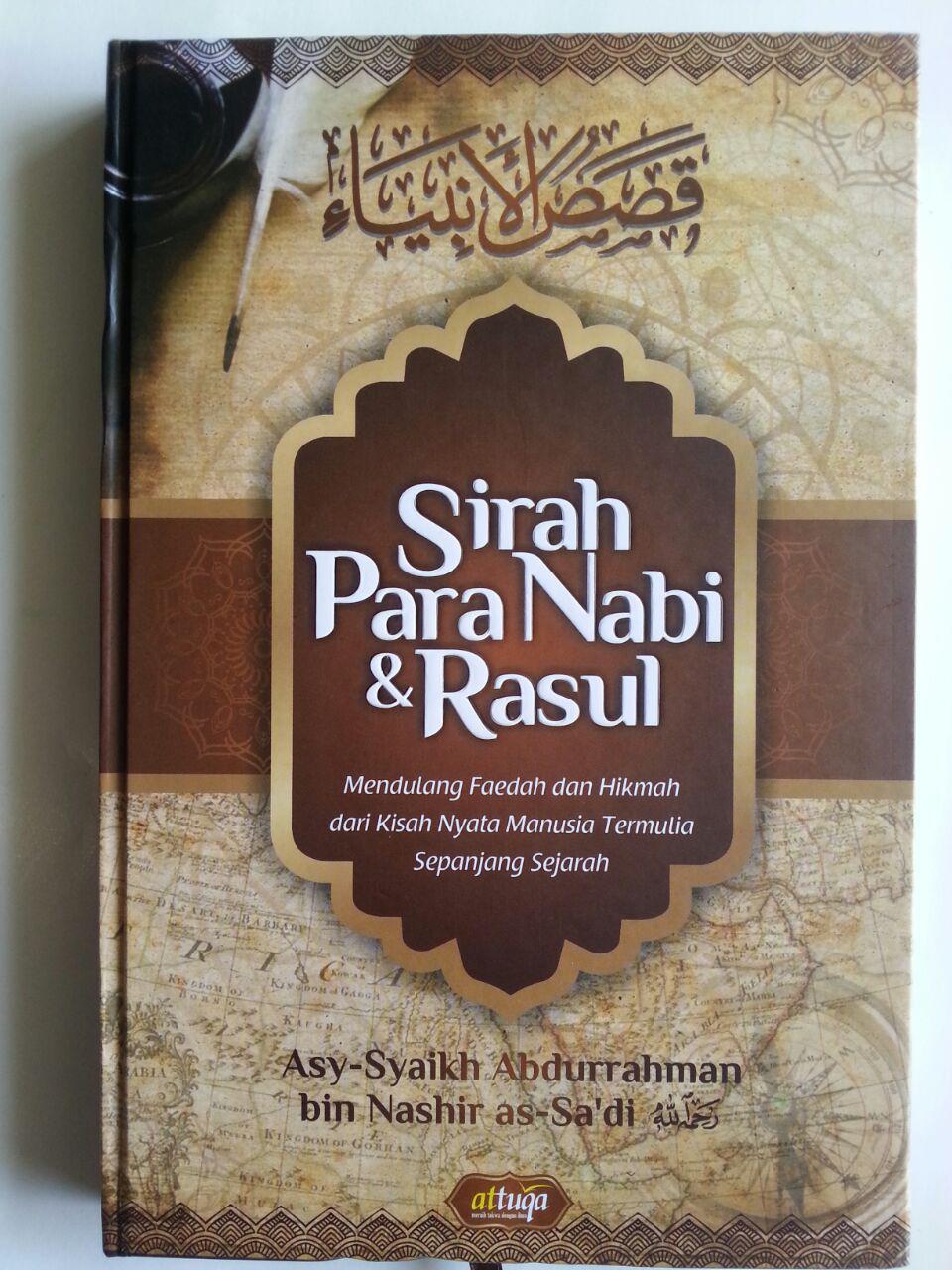 Buku Sirah Para Nabi Dan Rasul Mendulang Faedah Dan Hikmah cover 2