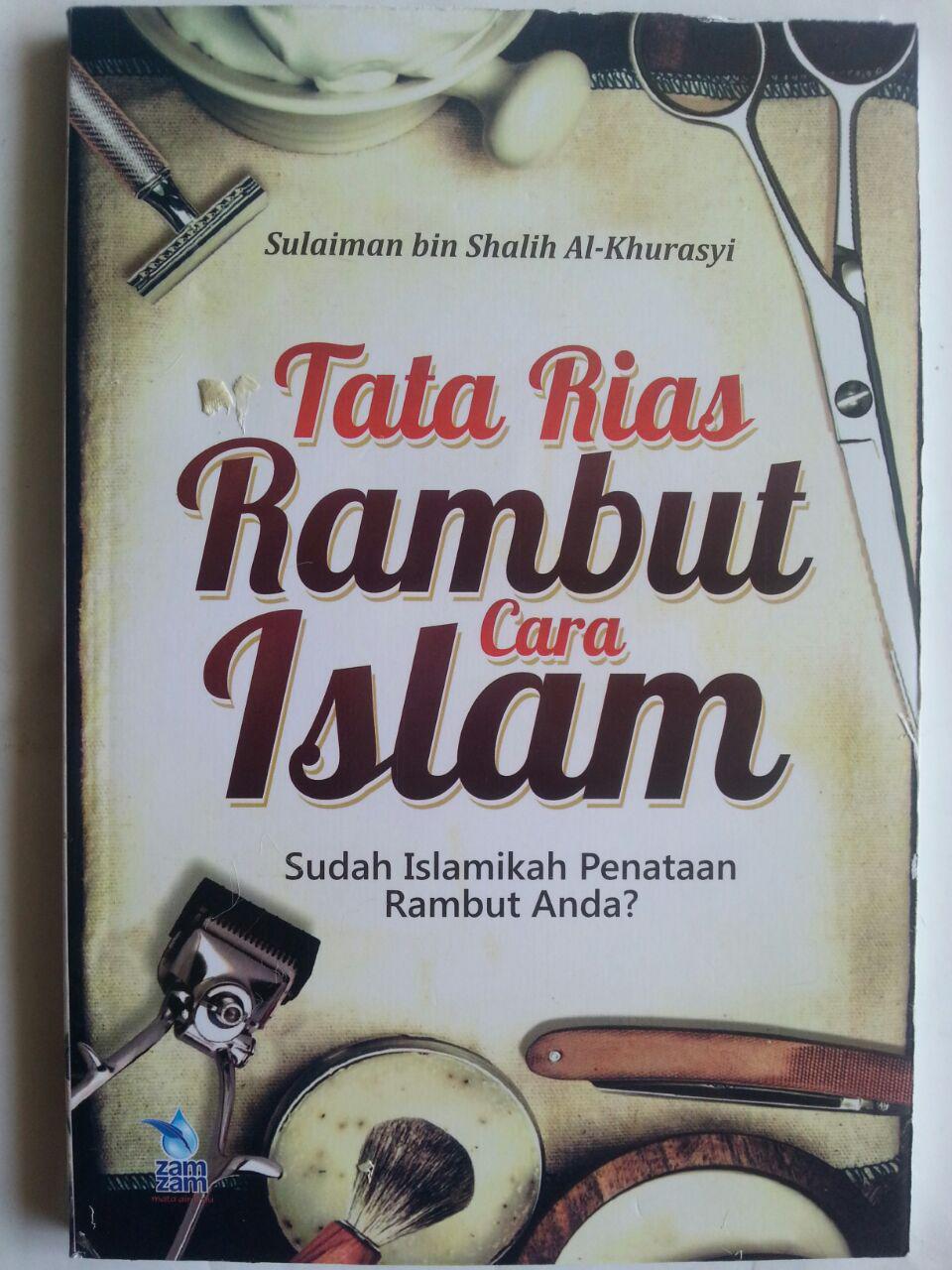 Buku Tata Rias Rambut Cara Islam cover 2