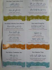 Poster Doa-Doa Harian isi