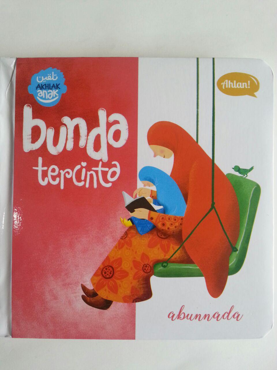 Buku Anak Talqin Akhlak Anak Bunda Tercinta cover 2